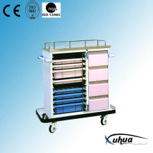 Chariot médical médical d'hospitalisation de haute qualité pour hôpitaux (P-11)