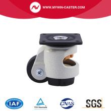 Plate Aluminum Alloy PA Auto Adjustable Caster