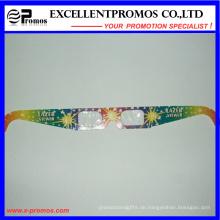 Heiße Verkauf Pappe Papier Feuerwerk 3D Gläser (EP-G58404)