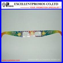Vidrios calientes de los fuegos artificiales 3D del papel de la cartulina de la venta (EP-G58404)