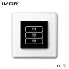 1 Gang Curtain Switch Glass Outline Frame (HR1000A-GL-CT(AC1))