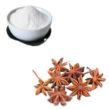 Factory provide cheap pharmaceutical grade 98% purity Shikimic Acid