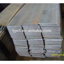 S355JR S235JR haute barre plate en acier au carbone