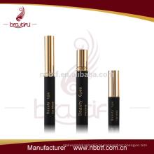 Gold fornecedor China cosméticos de alumínio set best selling tubo de batom mascara tubo de batom