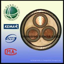 Сетка состояния 10 кВ Типы электрических кабелей 3 * 240 мм2 с изоляцией из сшитого полиэтилена