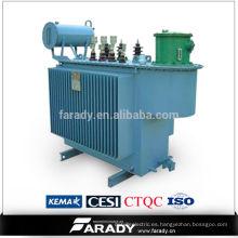 Transformador trifásico del aceite de la distribución eléctrica 35kv