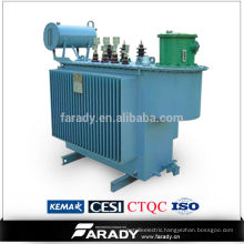 power usage transformers 450kva immersed power pole-type transformer