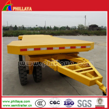 10-20ton Turnable Drawbar Towing Full Trailer