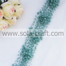 3+8MM Imitation Faux Pearl String Beaded Chains For DIY