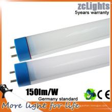 2016 Meilleur tube LED 150l / m pour projets (ZC / T8 1200mm)