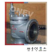 Válvula de alívio de segurança operada por piloto Wcb para baixa pressão