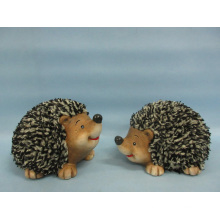 Hedgehog Shape Ceramic Crafts (LOE2532-C13)