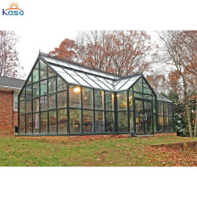 Prefabricated Aluminum Price Free Standing Glass House