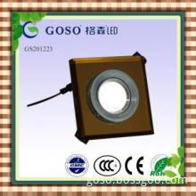 CE brown aluminum alloy square 3w ceiling light GS201223