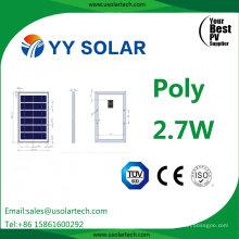 High Quality 2.7W/3W Polycrystalline Solar Module