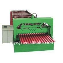 Máquina de folha de telhado de aço de perfil corrugado automático QJ-850