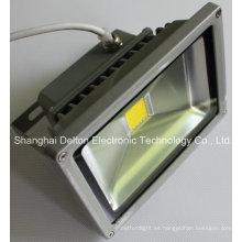 Luz impermeable flexible de la inundación de la COB LED 10W