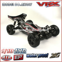 RC 2.4G 1/10 Scale 4WD RTR Brushless Model Car, High Speed RC Car