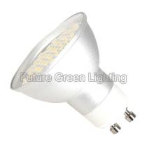 Lampe à LED GU10 / Ampoule LED GU10 (coque en aluminium, 48PC 3528SMD)