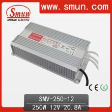 Смун 250 Вт Водонепроницаемый светодиодный драйвер Смв-250