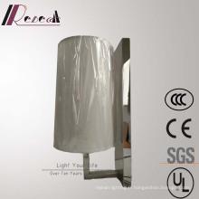 Lampe de mur de chevet de miroir d'acier inoxydable pour le projet d'hôtel