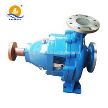 Machine de pompe à eau de rivière Données de performance de pompe à eau chaude de 100 degrés Pipeline