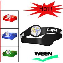 2016 heiße Verkaufsarmband-Art- und Weisesilikon-Gummi-Armbänder
