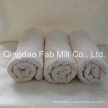 Toalla de mano y cara de cáñamo suave / algodón orgánico (QDFAB-HCT)
