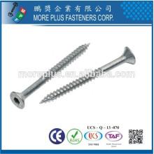 Fabricado em Taiwan M3.5X30 Aço de carbono Nickel Bugle Head Self Tapping Screws