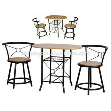 dining room furniture-1+2 bar tables and chairs