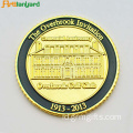 Customized Metal Coin Token Dengan Disepuh