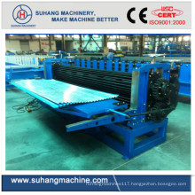 Material Thickenss 0.18-0.4mm Barrel Horizontal Corrugated Roof Sheet Roll Forming Machine