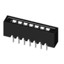 2.54mm FPC NON ZIF DIP Straight  Connectors