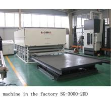 Fabricante líder de fornecimento de máquina de vidro laminado