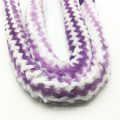 1.8m Purple Striped Fur Design Acrylic Shisha Hookah Hose (ES-HH-006-5)