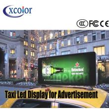 Pantalla de doble color a todo color P5 Taxi Led