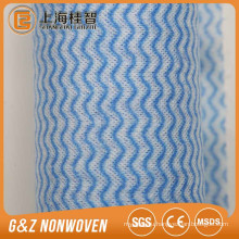 Hot Sale Beautiful Environment-Friendly Wave Embossed Nonwoven Fabric