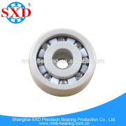 Miniature Small Plastic Polymer Glass Ball Bearing with high performance