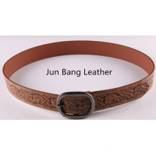 Fashion Embossed PU Belt in High Quality for Women