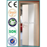 Hot sale modern Interior PVC Door with handle