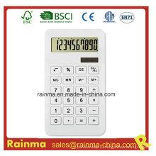 Белый цвет Эко-калькулятор для школьных канцелярских принадлежностей