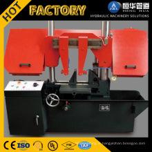 Machine horizontale de sciage de bande en métal de double colonne avec le meilleur prix