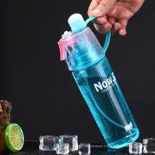 Custom Logo Reusable Plastic Avana Hibiki Water Bottles with Time Marker