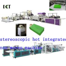 Machine non tissée pour la fabrication de sacs non tissés Kxt-Nwb16 (CD d'installation joint)