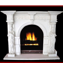 Natural Stone Marble Fireplace (SY-MF025)