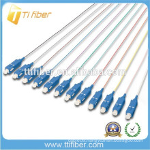 Indoor 12 Fiber Cores Fiber Optic Pigtail SC