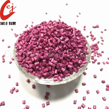 Free Spraying Rose Red Masterbatch Granule