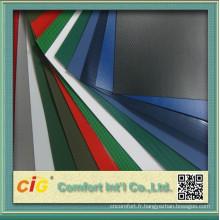 Feuille de bâche de PVC coloré