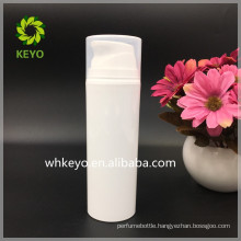 150ml PP airless pump bottle cosmetic pump bottle transparent lid
