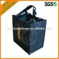 Kundenspezifisches förderndes Geschenk faltbare pp. Bedruckte Tote-Gewebe-recyclebare nicht gesponnene Tasche
